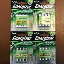 16 x Energizer Power Plus PreCharged AAA LR3 Rechargeable Batteries NiMH 700mAh