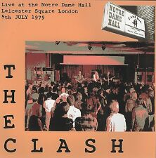 RARE THE CLASH Live at the Notre Dame Hall Leicester Square London 1979 CD