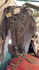 U.S. Army Calvary Civil War Vintage Horse Mule Harness, Bit, Headstall, Blinders