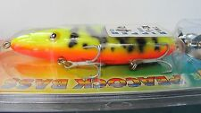 LUHR JENSEN WOODCHOPPER WORLD RECORD PEACOCK BASS DOUBLE PROPELLER LURE HEDDON