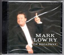 CD Mark Lowry. On Broadway. Musica y humor. Nuevo y precintado.