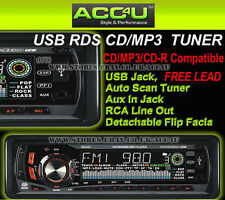 Sub Zero ICE Car CD MP3 USB SD Card RDS Radio Tuner Aux In Head Unit Player+Free
