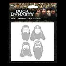 Duck Dynasty Car Truck Auto Window Decal/Sticker Commander Phil Si Willie Jase