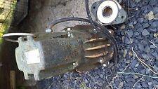 Zoeller Septic/Sump Pump 230v Model: E163-D PT: 163-0004