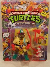 Teenage Mutant Ninja Turtles TMNT 1991 - Hose 'Em Down Don Fire Fighter (MOC)