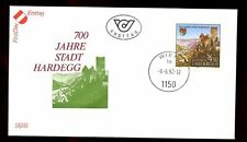 Austria 1990 Hardeggs Elevation To Status Of Town FDC #C2993