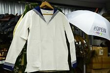 White with Jack, Russian, Soviet NAVY Sailor Jacket, made in 198*