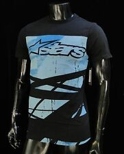 Alpinestars Racing Motocross Chance Black Atletic mens T shirt size Small