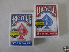 Magic - Marked Bicycle Cards - Sealed Deck of Blue or Red Rider Back - ONE Deck
