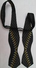 -Noeud Papillon Cravate SHOOTIN DRONS  100% soie  TBEG  vintage