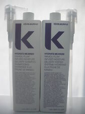 Kevin murphy hydrate me wash & rinse 2 x 1 litre each 2 x 1000 ml with pump new.