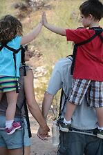 Piggyback Rider SCOUT model - Standing Child Toddler Carrier Backpack for Hiking