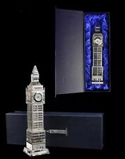 London Big Ben Clock Metal Plated Glass British Souvenir Gift