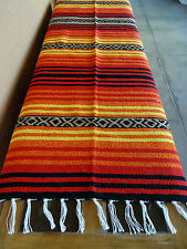 Peyote Serape Blanket ONWPT-1 Southwest Southwestern Mexican Afghan
