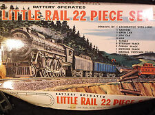 LOUIS MARX & CO. 1966 MARX TOYS Little Rail Train Set JAPAN Vintage