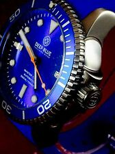 Deep Blue Master 1000 Automatic Blue Bezel And Dial