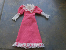 Sindy doll clothes. 1982 Fair lady pink dress. Some tlc Pedigree