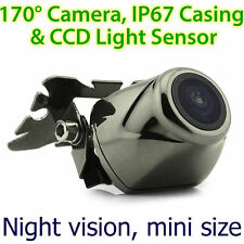 CCD Waterproof Small Night Vision Car Reverse Camera Rear View Parking Brass OZ