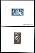 NIGER 1977 558-559 KUNST und KULTUR EPREUVE de LUXE in BLOCKFORM(J3464