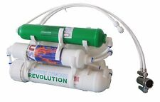 5 stage portable countertop Reverse Osmosis Filter with double DI 0PPM filters