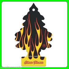 Citrus Flames Little Tree Hanging Air Freshener [TREE05] Magic Flame