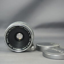 Canon Rangefinder 28mm f2.8 Lens for Leica Screw Mount LTM L39