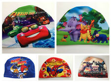 Hot Sell And Cute Children Kids Cartoon Swimming Caps For Boys ( Random Sent )