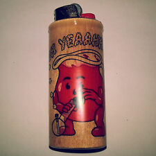 Kool Aid Bong BIC Lighter Case Weed Marijuana Ganja Pot Holder Sleeve Cover