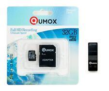 QUMOX 32GB MICRO SD CLASS 10  SPEICHERKARTE mit OTG Kartenleser