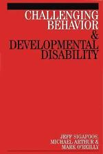 Challenging Behaviour and Developmental Disability