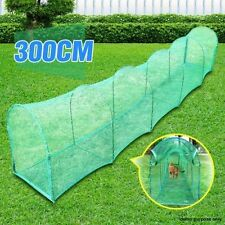Deluxe Outdoor Foldable Cat Walk & Run Tunnel. Completed Enclosed with 2 Doors.