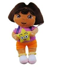 DORA LA EXPLORADORA / DORA THE EXPLORER- PELUCHE DORA 35cm / DORA PLUSH DOLL 14""