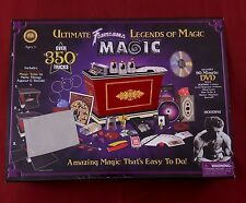 Fantasma Ultimate Legends of Magic & DVD Set Over 350 Magic Tricks Magician Tool