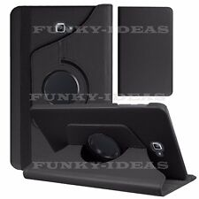 "360 Rotation Leather Case Stand Cover For Samsung Galaxy Tab A6 7"" 10.1"" A 9.7"""