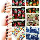 Nail Art Water Transfer Fiore Stickers Decal Adesivi Manicure Unghie Decorazione