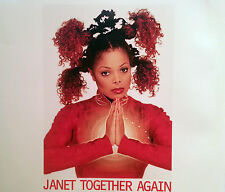 JANET JACKSON 6 TRACK CD TOGETHER AGAIN FREE POST IN AUSTRALIA