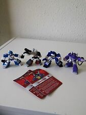 TRANSFORMERS G1 ROBOT HEROES LOT, Megatron, Soundwave, Mirage, Shockwave 2007