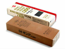 KING Japanese Waterstone Medium 1200 G Water Stone King Finishing Stone X 2