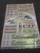 THICK MX DECALS STICKER SHEET KAWASAKI KX65 KX85 KX100 KX125 KX250 KX500 EVO