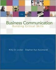 Business Communication: Building Critical Skills with PowerWeb and BComm Skill B