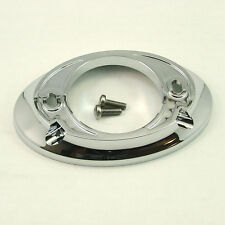 Mira Excel oval backplate assembly - chrome - 451.88