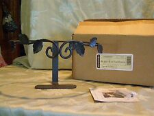 Longaberger Wrought Iron Wall Vase Basket Holder NIB At Home Garden