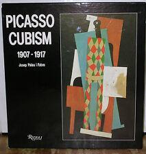 Picasso Cubism 1907-1917 by Josep Palau i Fabre-1st U.S. Edition/DJ-1990