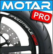 LISERET JANTE STICKER MOTO SPEED TRIPLE RIM STRIPES pegatinas 40COLORS