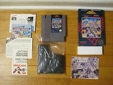 Mega Man 1 Nintendo NES game complete in box 1987