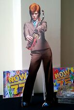 David Bowie Display Desktop Stand NEW Life On Mars Rebel Absolute Beginners Fame