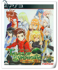PS3 Tales of Symphonia: Unisonant Pack Sony PlayStation RPG Namco Bandai Games