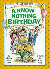 A Know-Nothing Birthday (An I Can Read Book)