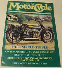Classic MC 9/88 Royal Enfield, Cecil Sandford, OK Supreme Lighthouse, Cyclecars
