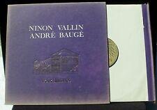 Ninon Vallin André Baugé Voix illustres DTX 50026 LP NM-, CV EX